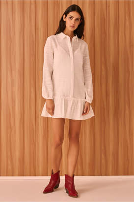 The Fifth REALISM SHIRT DRESS white