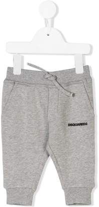 DSQUARED2 logo patch track pants
