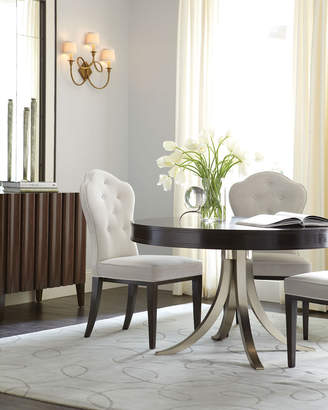 Bernhardt Haven Button Tufted Dining Side Chair (Each)