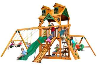 Gorilla Playsets Frontier Malibu Roof Swing Set
