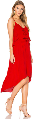 Ella Moss Katella Dress in Red $198 thestylecure.com