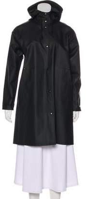 Stutterheim Knee-Length Rain Coat
