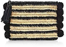 Loeffler Randall Women's Tassel Straw Pouch