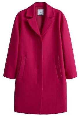 d3fca27a6d23 Unstructured Wool Coat - ShopStyle
