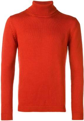 Nuur ribbed roll-neck fitted sweater