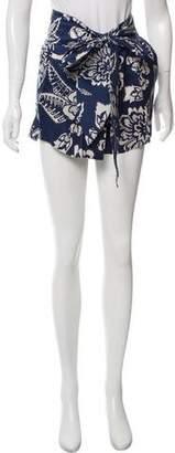 Isabel Marant Floral Mini Shorts