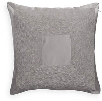 Hotel Collection Keystone 18-Inch Square Beaded Cushion