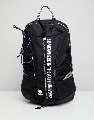 A Bathing Ape Aape By AAPE By backpack in black
