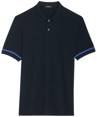 Theory Function Contrast Trim Polo