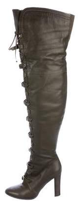 Jimmy Choo Maloy 95 Over-The-Knee Boots