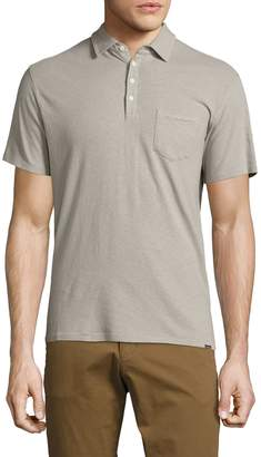 Woolrich Men's Solid Cotton Polo