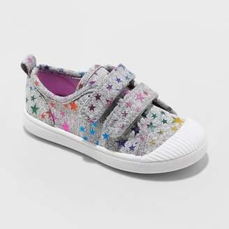 Cat & Jack Toddler Girls' Madge Adjustable Easy Close Sneakers
