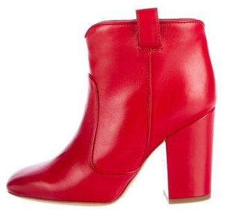 Laurence Dacade Pete Leather Ankle Boots $250 thestylecure.com