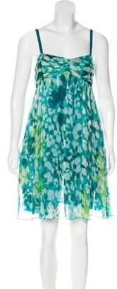 Diane von Furstenberg Pomdor Silk Dress
