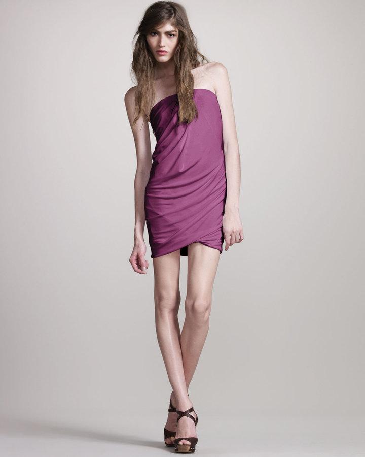 Cut25 Jersey Strapless Dress