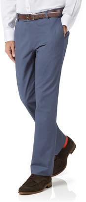 Charles Tyrwhitt Blue Slim Fit Stretch Cotton Chino Pants Size W30 L30
