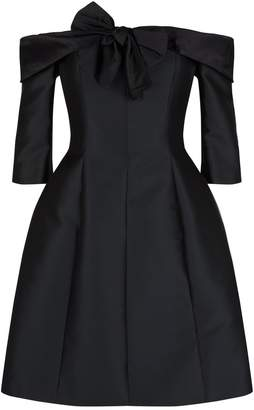 Alexis Mabille Off-The-Shoulder Bow Dress