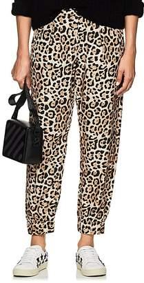ATM Anthony Thomas Melillo Women's Leopard-Print Silk Pants