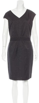 Brooks Brothers Linen-Blend Sheath Dress w/ Tags $125 thestylecure.com