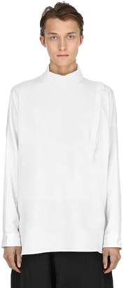 Isabel Benenato High Cotton Cotton Jersey Shirt