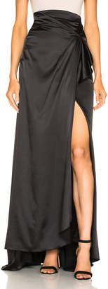 Alexis Brill Skirt in Black | FWRD