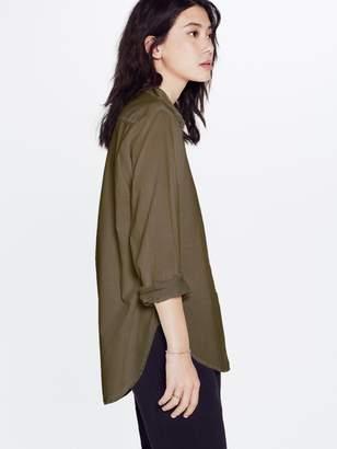 Xirena XiRENA Cotton Poplin Beau Shirt - Moss