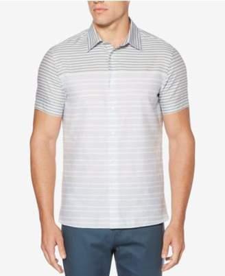 Perry Ellis Men's Engineered Striped Shirt