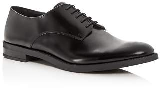 Giorgio Armani Men's Leather Plain-Toe Oxfords