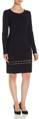 Tory Burch Harley Lace-Up Embellished Dress