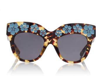 Erdem Tshell Blue Sunglasses