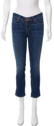 Genetic Los Angeles The Liam Crop Low Rise Jeans