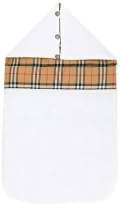Burberry Vintage Check Cotton Baby Nest