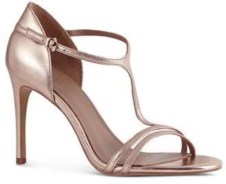 Reiss Women's Constance Leather High-Heel Sandals