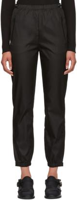 Prada Black Nylon Track Pants