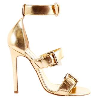 Pre-owned - Leather sandals Just Cavalli E3TrV87150
