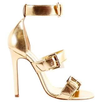 Just Cavalli Leather sandals