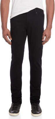 7 For All Mankind Black Ronnie Skinny Fit Pants