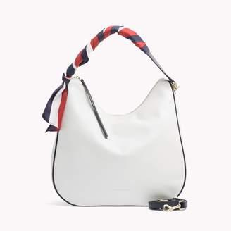 Tommy Hilfiger Leather Hobo Bag