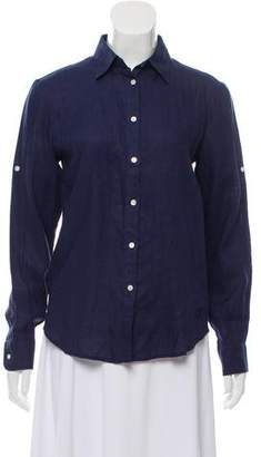 Vilebrequin Linen Button-Up Top w/ Tags