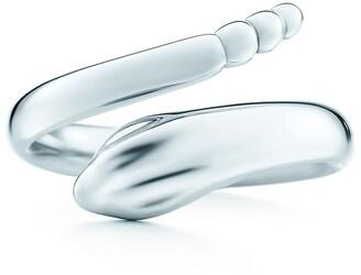 b5a37e0e6 Tiffany & Co. Elsa Peretti Snake ring in sterling silver - Size 5