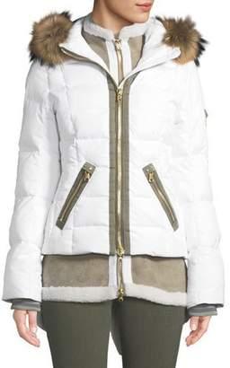 Bogner Eyla Three-Piece Combo Coat w/ Detachable Hood