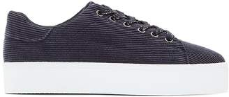 La Redoute COLLECTIONS Canvas Low Top Platform Trainers