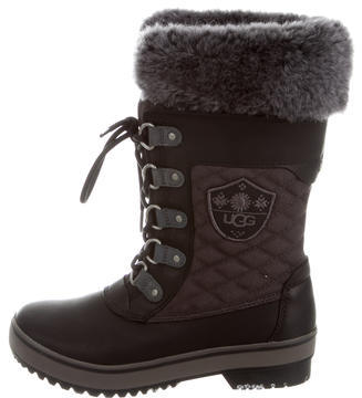 UGGUGG Australia Shearling-Lined Weather Boots