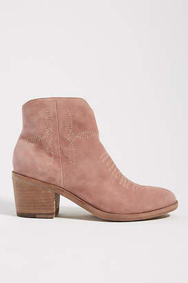 Silent D Western Ankle Boots
