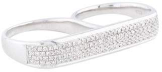 As 29 AS29 Double Diamond Ring
