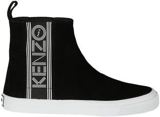 Kenzo Logo High-top Sneakers