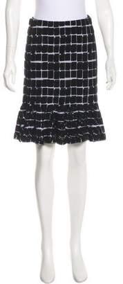 Kenzo Knit Knee-Length Skirt w/ Tags
