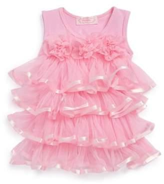 Popatu Ruffle Tiered Dress