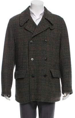 Dries Van Noten Wool Double-Breasted Coat