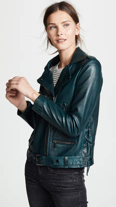 Nour Hammour Republique Leather Jacket
